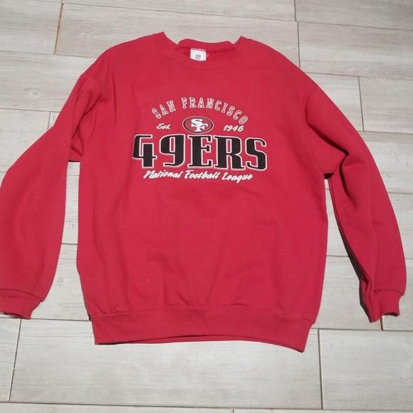 quality design f45be a8cda DEADSTOCK 90s San Francisco 49ers sweatshirt Large